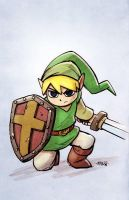 the Legend of Zelda: Link by matthewart
