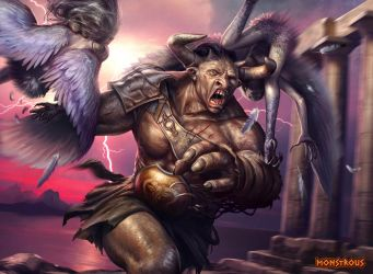 Monstrous - Minotaur by JarrodOwen