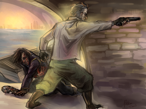 dishonored - jumping in by PayRoo
