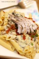 Chicken and Shrooms Pasta by Foodtrip