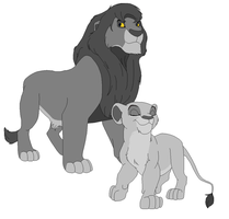 Lion King Proud Father Base by FallenFireFox