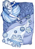 The Snow Queen by Kecky