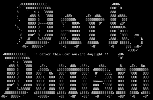 Dark Domain ASCII by diamondie