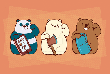 We Lucky Bears by weeaboo-sensei