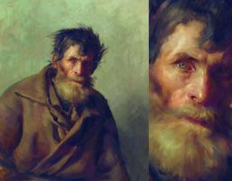 Study of Ilya Repin by Toru-meow