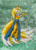 Miles Prower: Ninetails by Omnicenos