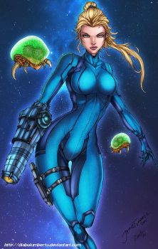 Samus by diabolumberto
