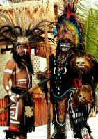 Mayan Warriors by MarchCoven