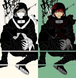 Young Sasori as a ninja by matsuorie
