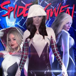 Spider-Gwen verse by BLACKrangers123