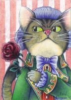 Count von Purrsen (ACEO) by Lord-Aragoon