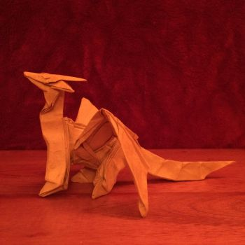 Origami Dragon by Origami1105