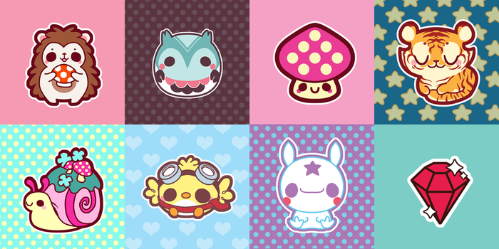 Cutesy Designs - Part 1 by Mazzlebee