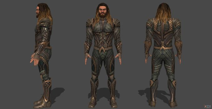Aquaman JL Injustice 2 by SSingh511