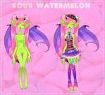 Sour Watermelon   Teethia Custom By Thesmallroomar by SimplyDefault