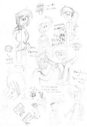Almost ALL DEM DxS KIDS OwO by nurmuzdalifah
