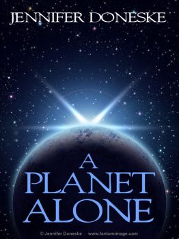 A Planet Alone - Book Cover Template by whitefantom
