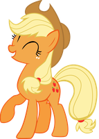 Applejack is a good sport vector by Dutchcrafter