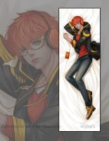 Dakimakura commission - 707 by Myme1
