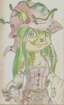 Sophie the Swamp Witch by dratini-chan