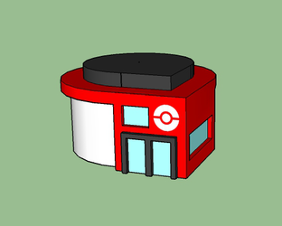 Aurina Pokemon Center by Marix20