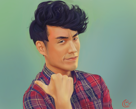 Imitation - Eugene Lee Yang from the Buzzfeed by MoonDaran