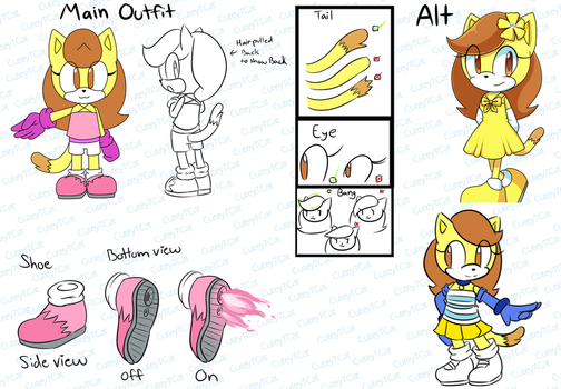 Daniela The Cat Reference by CuteyTCat