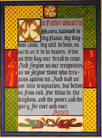 Celtic Lord's Prayer by angelboi-red