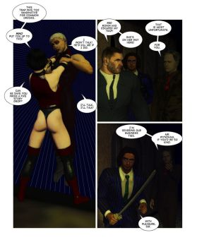 Metamorphoses, Part 8, Page 9: How to Get Ahead by chainedknee