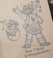 Joey Claire, extraordinaire by iLee-Font