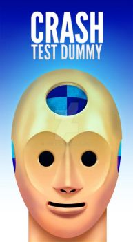 Crush test dummy by doghead