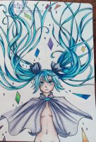 The Book.02- Miku, the wind of life by IEnideI