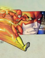 Flash by Adam Withers by TravisTheGeek