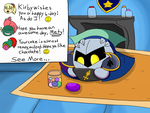 Meta Knight's 25th Anniversary by stardust155