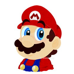 Just... Mario by TemmieSkyie