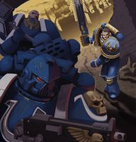 Space Marines by androsm