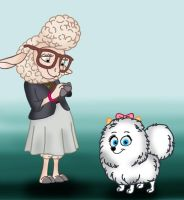 Bellwether Meets Gidget by Disneycow82