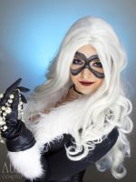 Black cat from Marvel comics by Atai