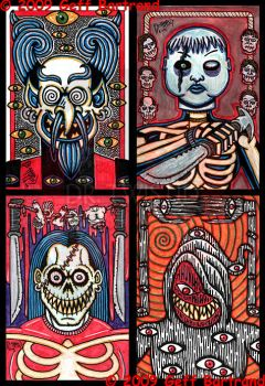 4x6 cards part 1 by Dr-Twistid