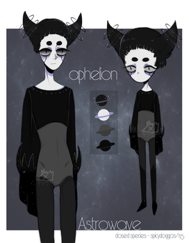 Astrowave: the Aphelion | auction adopt [closed] by spicydoggos