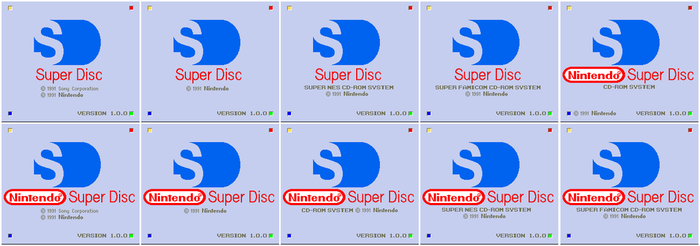 Nintendo Super Disc - Boot-Up Screen - 2 by AirSharkSquad