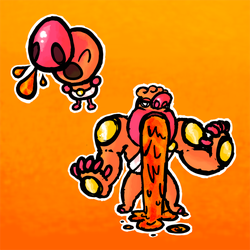 Super Ultra Mega Fakemon Contest Entry by hollmon