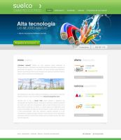 High-Tech Web Design by lKaos