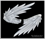 Wrapped Wings - Silver by Thy-Darkest-Hour