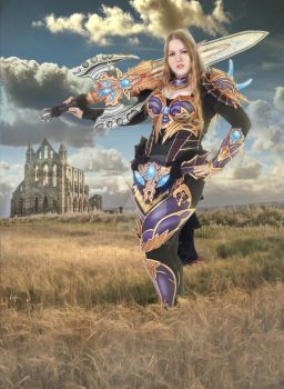 Moirai elf - Lineage 2 cosplay by PretzlCosplay