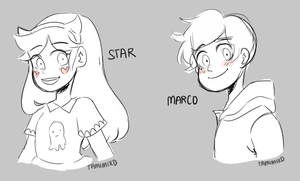 SVTFOE: Star And Marco by tamisumimi