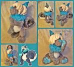 Tuk The Cinnadog Plush by The-Plushatiers