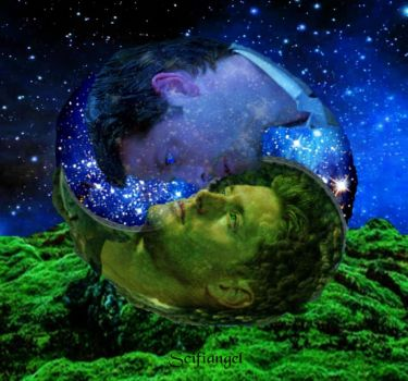 Heaven and Earth (photo manip) by Scifiangel