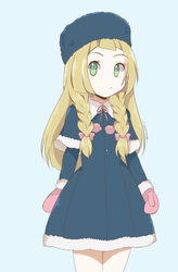 Pokemon - Winter Outfit Lillie by chocomiru02