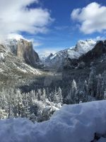 Winter Returns to Yosemite by Yosemite-Stories